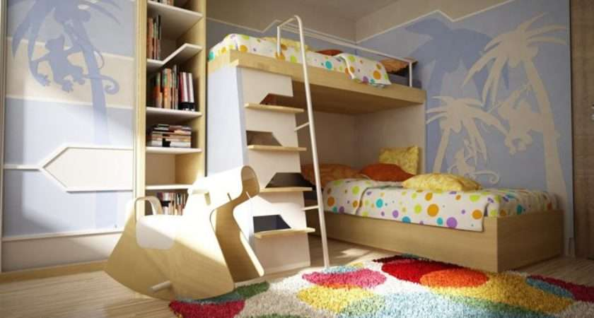 Original Children Bedroom Design Showcasing Vibrant