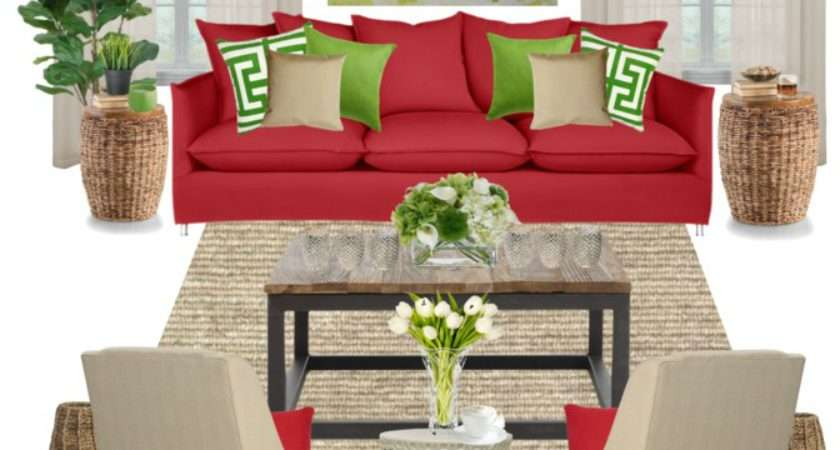 Oronovelo Red Couch Decorating Ideas
