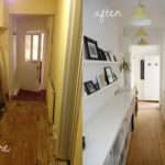 Our Before After Hallway Makeover Modern Maggie