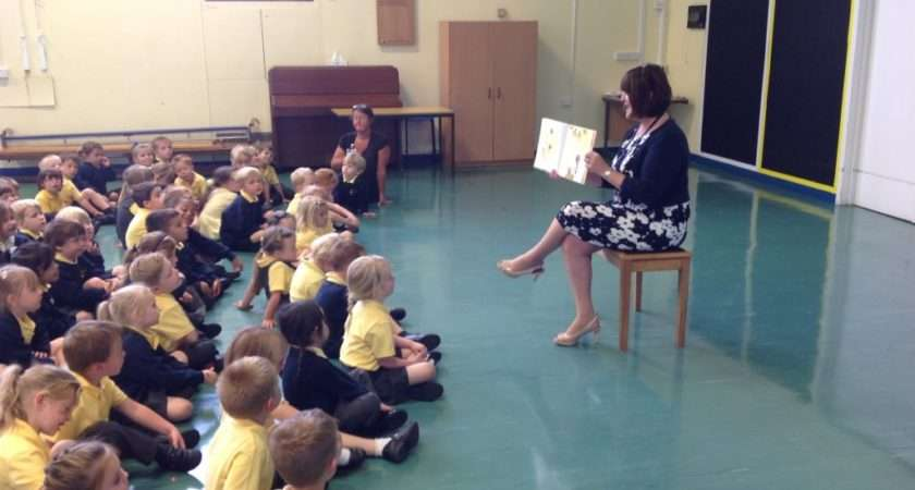 Our First Assembly Mrs Pede Ferndown School