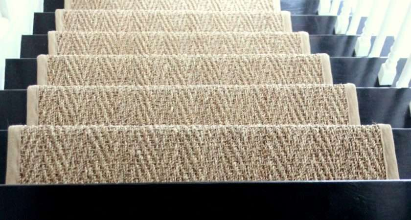 Our Natural Fiber Stair Runner Has Held Shine Your Light
