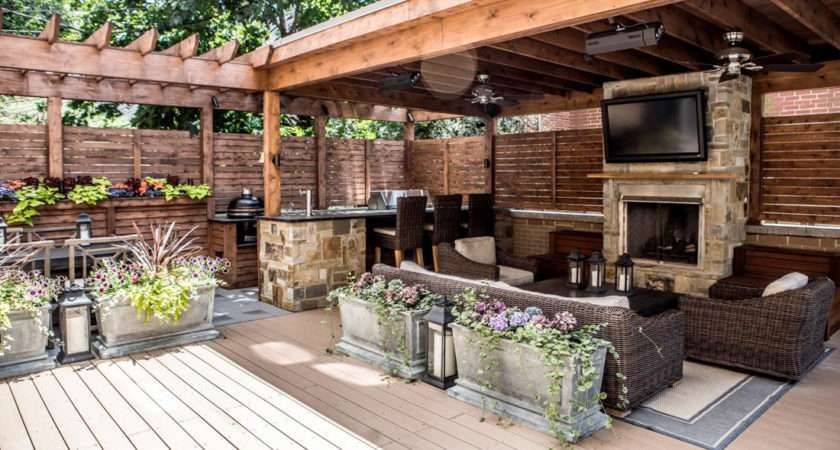 Outdoor Entertainment Area Ideas Nisartmacka