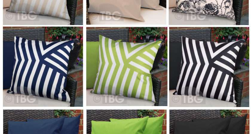 Outdoor Garden Cushions Cane Furniture Filled Accessories