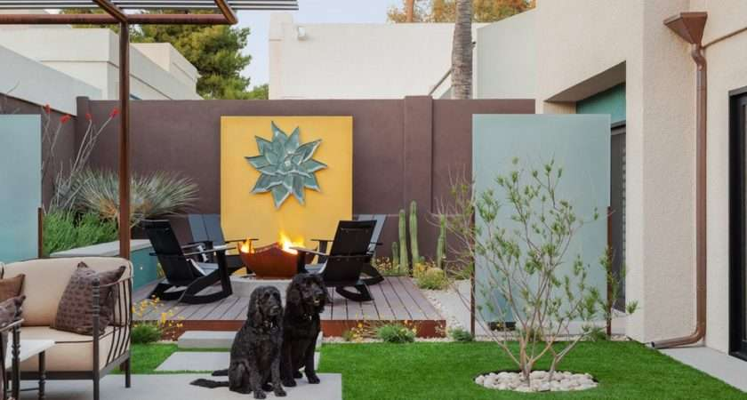 Outdoor Ideas Using Faux Finishes