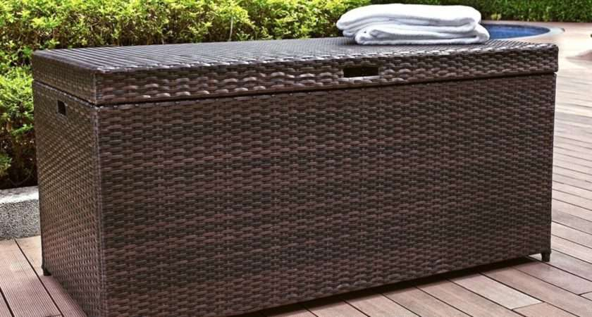 Outdoor Storage Trunk Bench