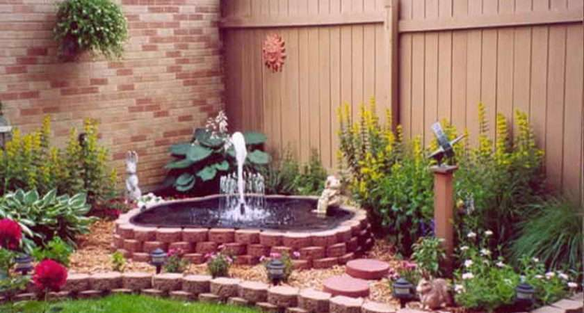 Outdoor Water Features Ideas All Types Fountains Gardens