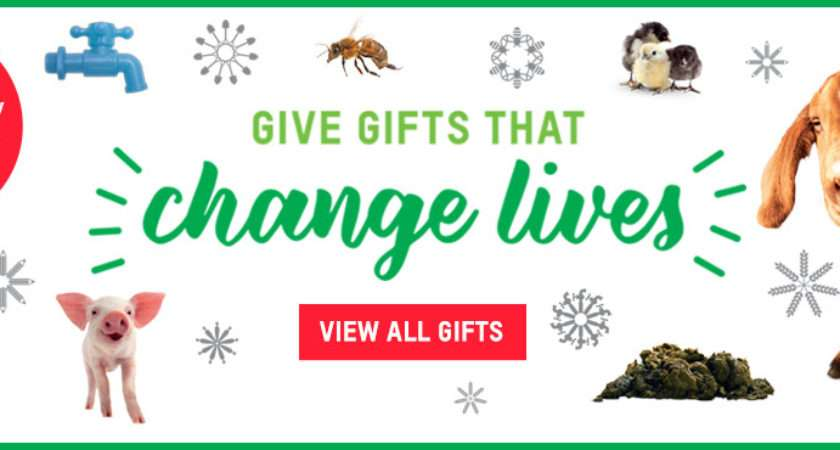 Oxfam Unwrapped Charity Gifts