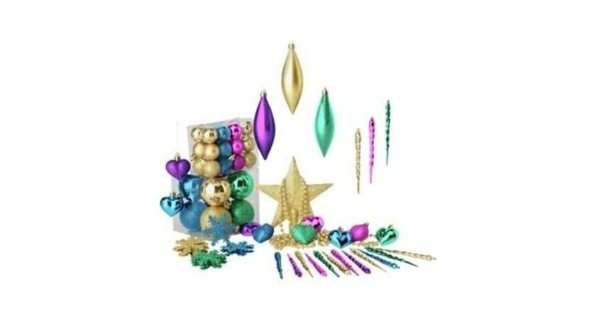 Pack Christmas Baubles Argos