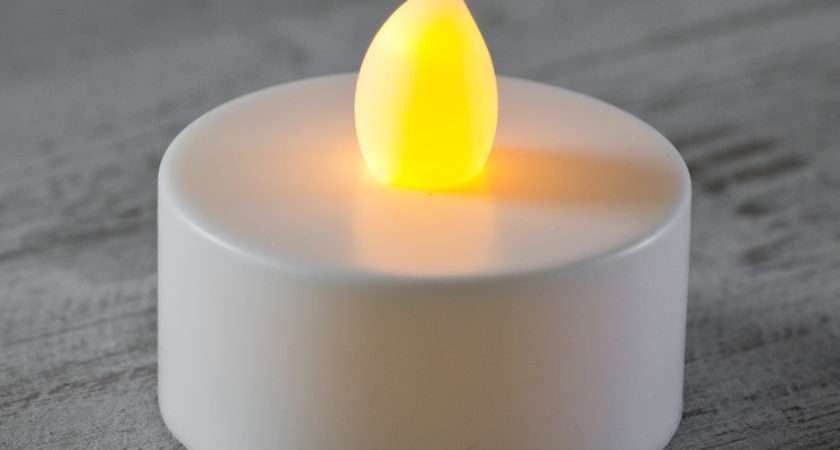 Pack Flickering Led Battery Operated Tea Lights