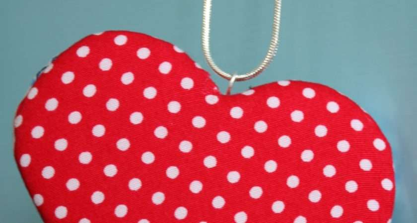 Padded Fabric Hearts Can Almost Anything
