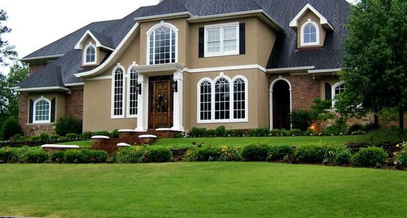 Paint Color Ideas House Exterior Landscape