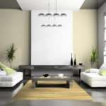 Paint Decoration Modern Living Room Design Ideas White Color