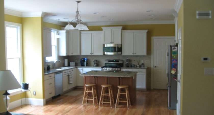 Paint Ideas Open Living Room Kitchen Facemasre