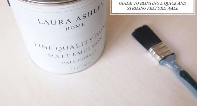 Paint Laura Ashley Feature Wall Blog