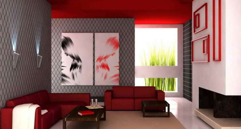 Paint Living Room Red Themes Best Color