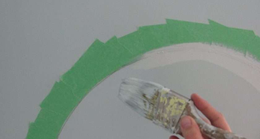 Paint Perfect Circles Seal Tape Edge