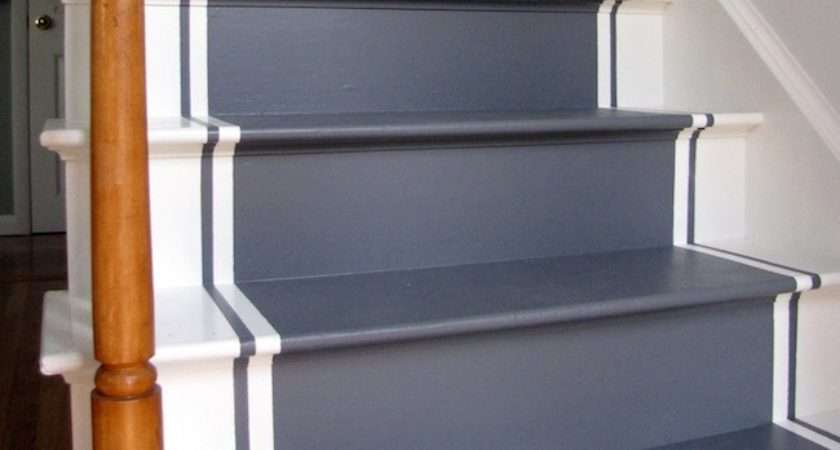 Paint Stairs Your House Make Hum Drum Trip Between