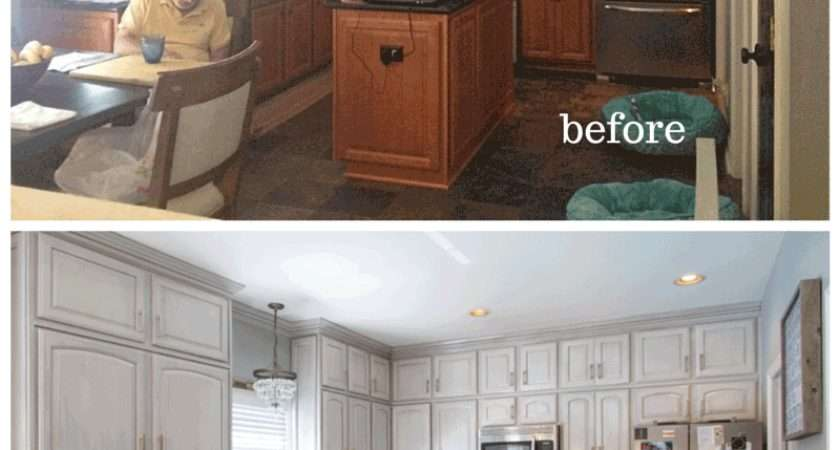 Painted Cabinets Nashville Before After Photos
