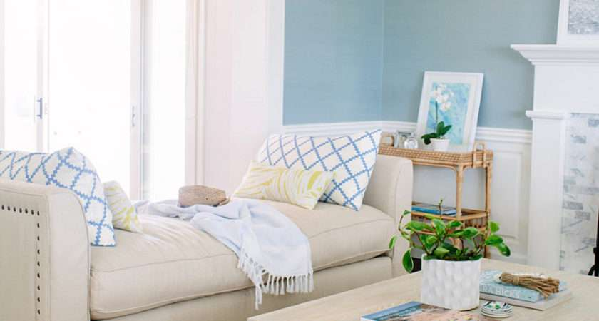 Painted Furniture Color Coastal Living Rooms Best
