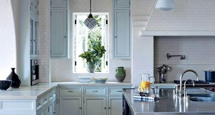 Painted Kitchen Cabinets Photos Architectural Digest