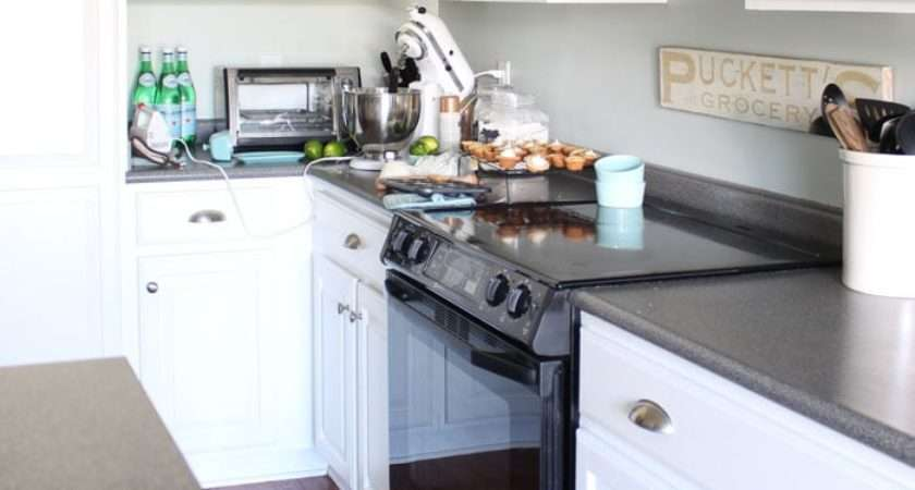 Painted Kitchen Cabinets Years Later Turquoise Home