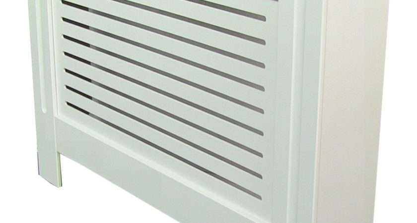 Painted Radiator Cover Cabinet White Mdf Small