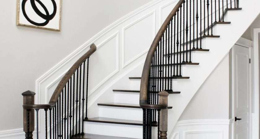 Painted Staircase Ideas Which Make Your Stairs Look New