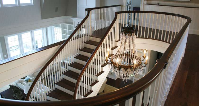 Painted Staircase Martinsonpainting Quality Northwest