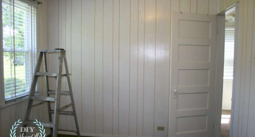Painted Stenciled Paneled Walls Diy Show Off