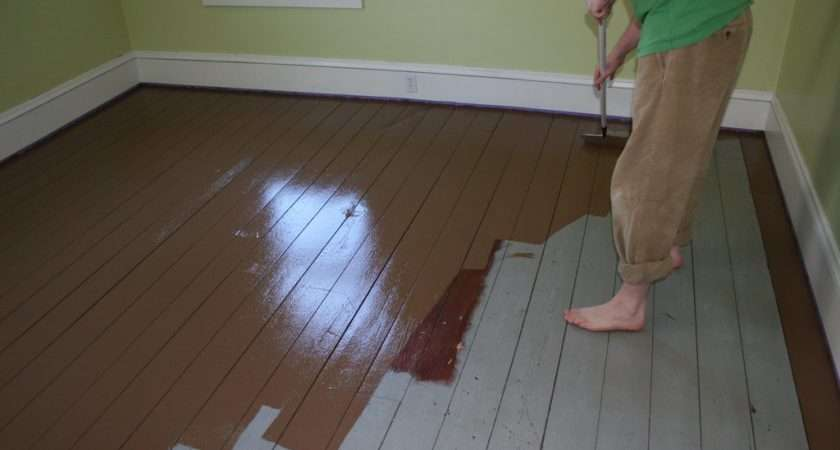 Painted Wood Floors Liven Your Home Diy Fun Times