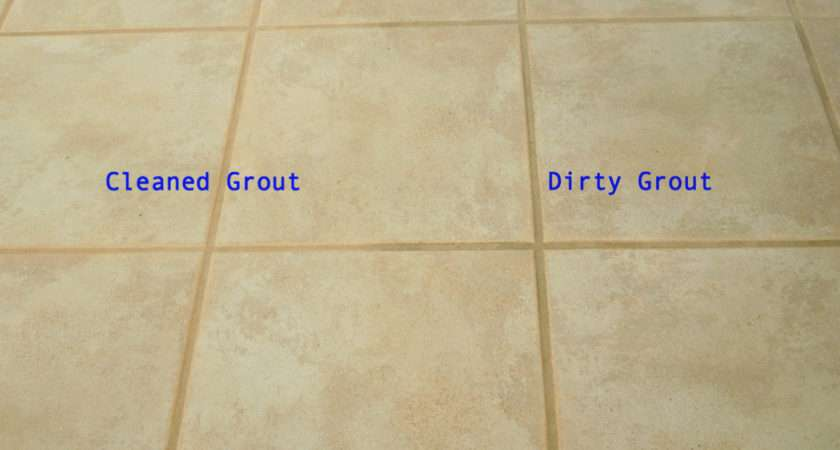 Painting Grout Blue Room