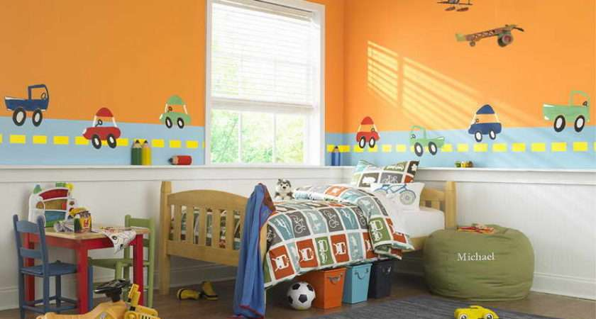 Painting Ideas Kids Rooms Wall