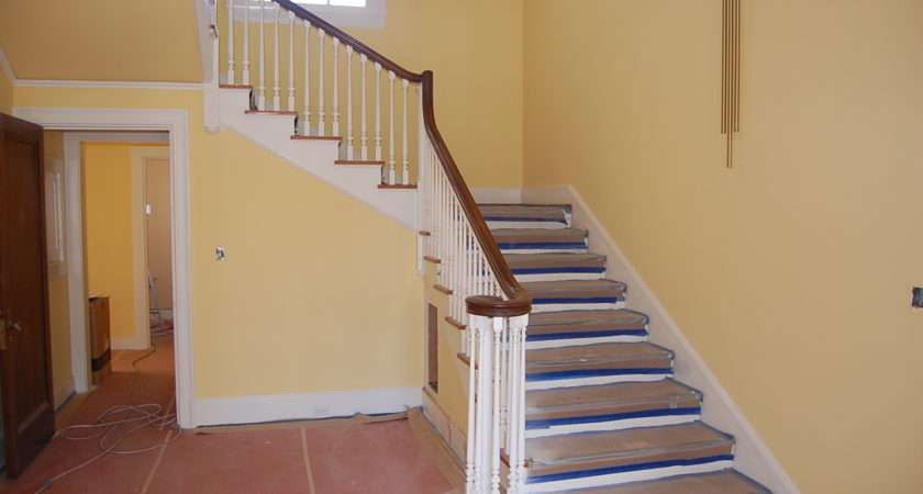 Painting Stair Case Pasadena