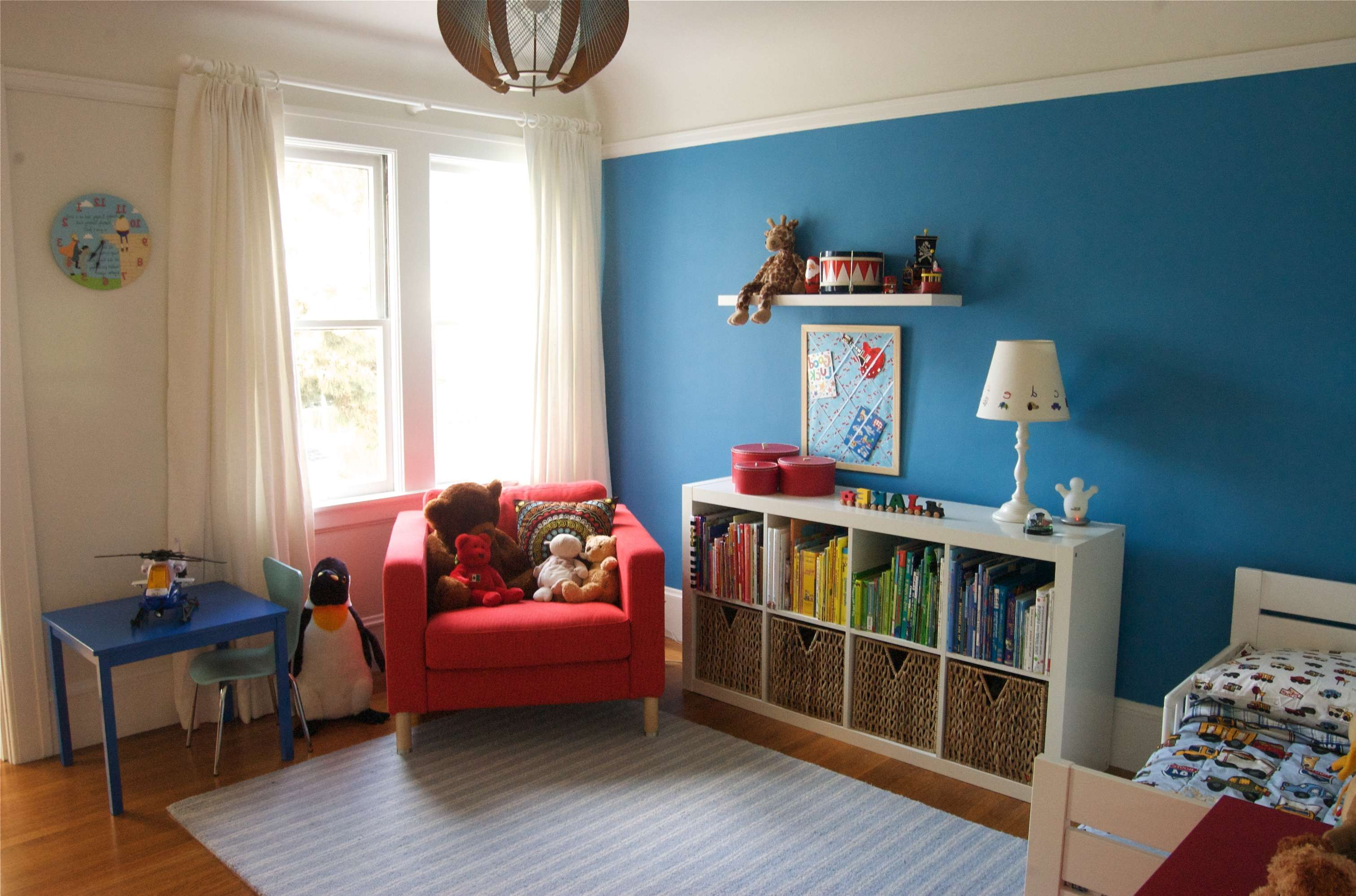 Painting Toddler Boy Room Cream Wall Second Sun