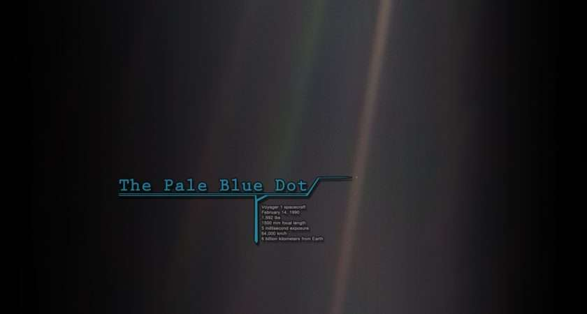 Pale Blue Dot Wallpapersafari
