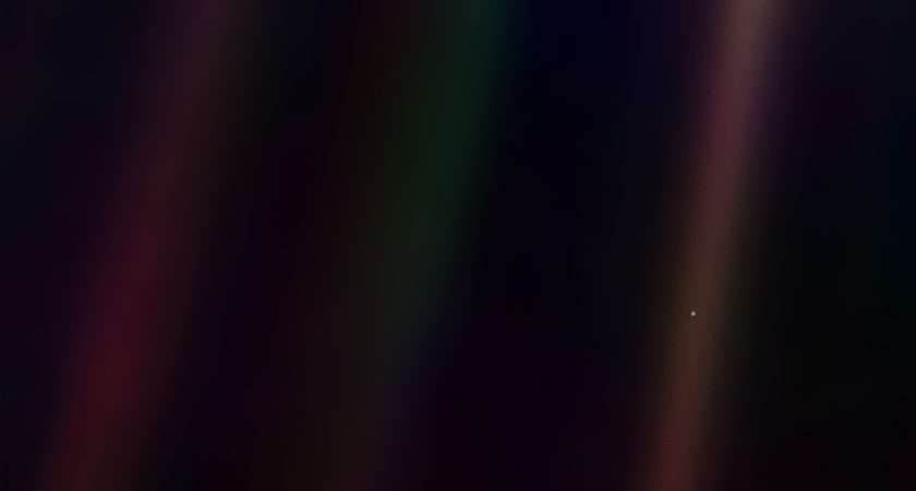 Pale Blue Dot Write Science