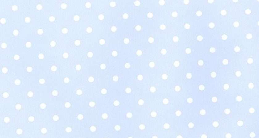 Pale Blue Polka Dot