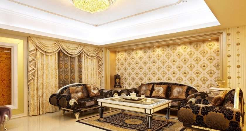 Pale Yellow Living Room House