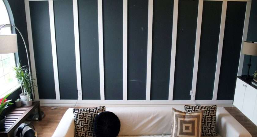 Panel Perfect Diy Living Room Before After