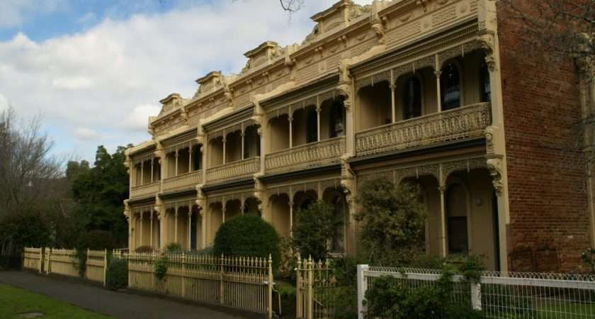 Panoramio Victorian Terrace Houses Carlton