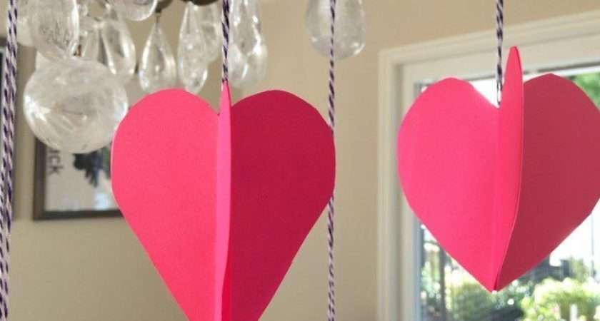 Paper Hearts Craft Diy Inspired