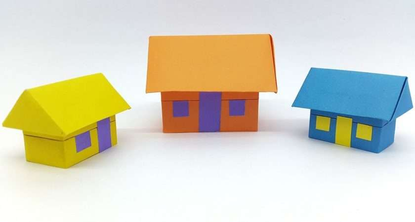 Paper House Make Origami Easy Step