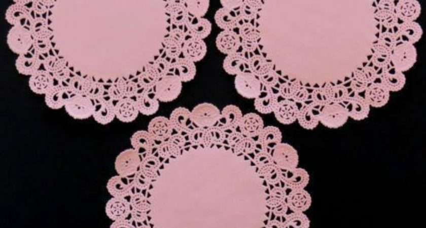Paper Lace Doilies Cardmaking Scrapbooking Ebay