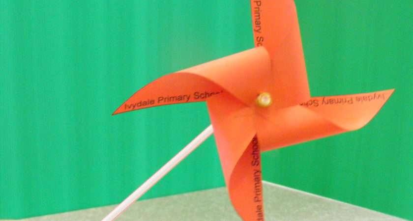 Paper Windmill Flower Card Crafthubs