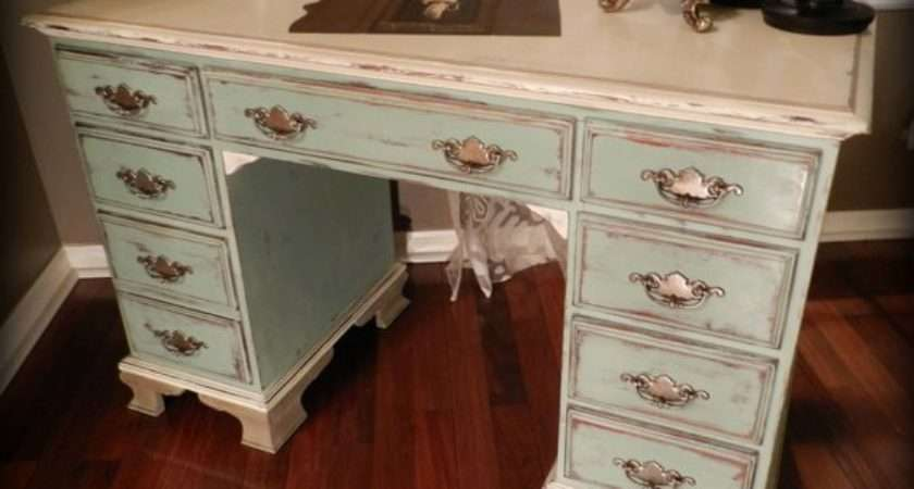 Paris French Cottage Shabby Chic Desk Reserved Sold