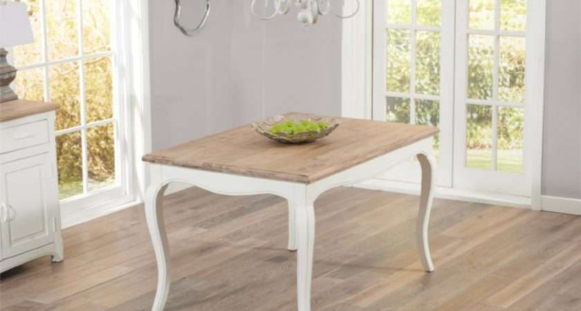 Parisian Shabby Chic Dining Table Benches Great