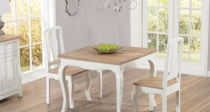Parisian Shabby Chic Dining Table Chairs Oak Furniture