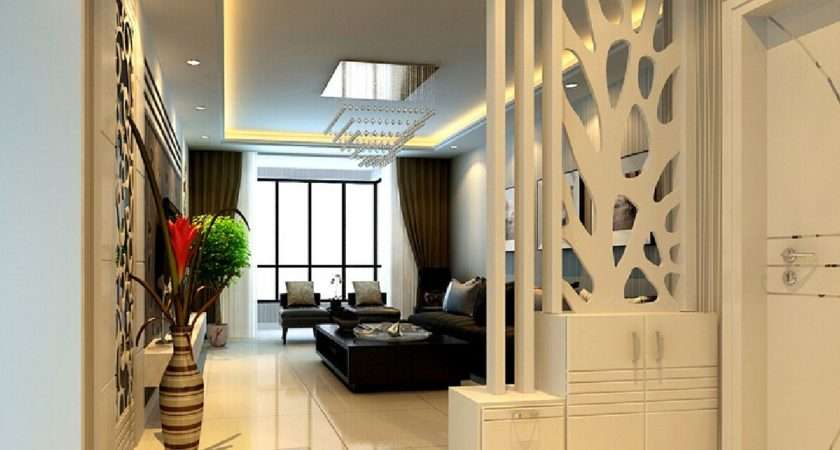 Partition Design Living Room Dining Hall