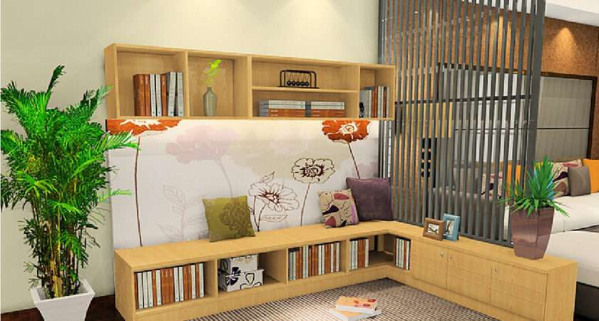 Partition Designs Between Living Study Room