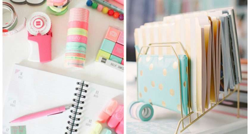 Pastel Colours Desk Stationery Chair